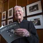 Jimmy Carter Visits My Exhibition on….Jimmy Carter